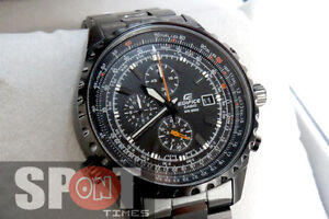 3addfd4be0d4 Image is loading Casio-Edifice-Chronograph-Mens-Watch-EF-527BK-1-