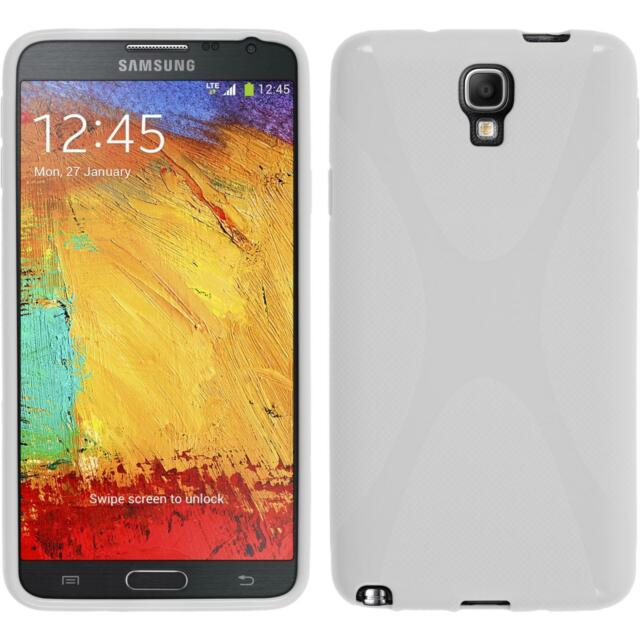 official photos e5488 9db4a Samsung Galaxy Note 3 Neo TPU Case Cover X-style White