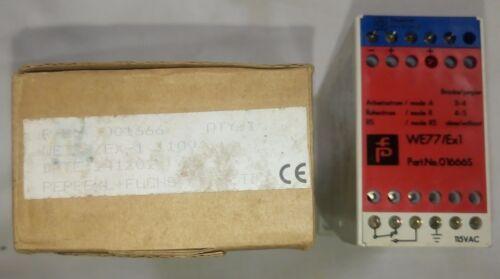 PEPPERL+FUCHS WE 77/Ex-1 115V Switch Amplifier