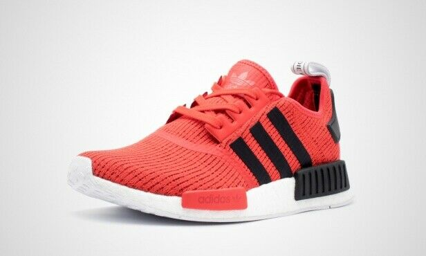 promo code 245d3 f7ccd Adidas NMD_R1 Primeknit Men's Shoes BB2885 Running Core Red/Black sz 9, 10
