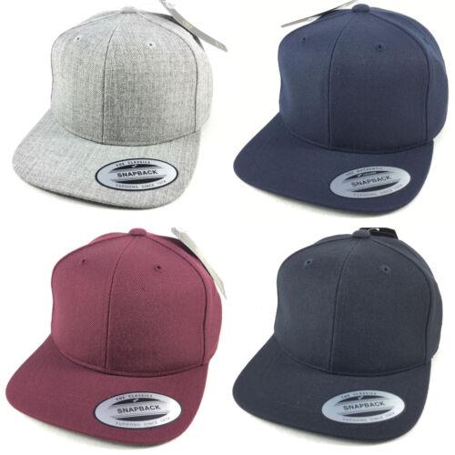 Kinder CAP Snapback Caps Yupoong by Flexfit Basic Kappe Basecap Baseball