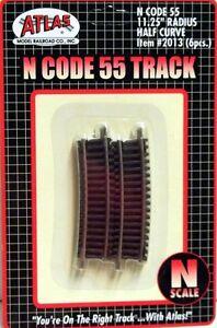 ATLAS-N-Scale-2013-Code-55-Track-11-1-4-034-Radius-Half-Curve-pkg-6-NIB