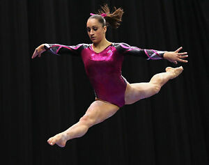 Sports Mem, Cards & Fan Shop Olympics Shawn Johnson Team USA Gymnastics Olympic World Champion 8x10 Glossy Color Photo
