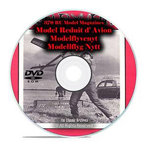 Details about 371 RC Model Airplane Magazines, Modelflyvenyt, French,  Danish, PDF DVD I15