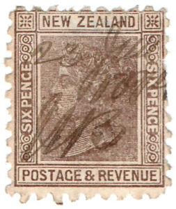 I-B-New-Zealand-Revenue-Duty-Stamp-6d-1891