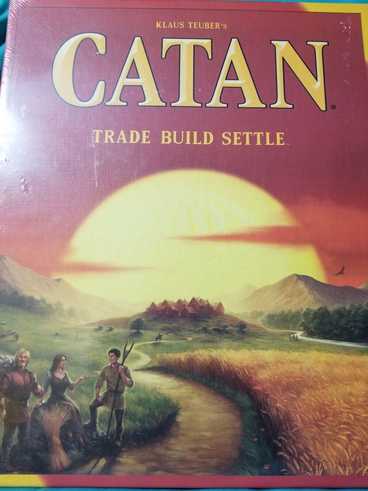 Catan kernsatz 5. familie brettspiel - handel bauen sich soziale interaktive 3071