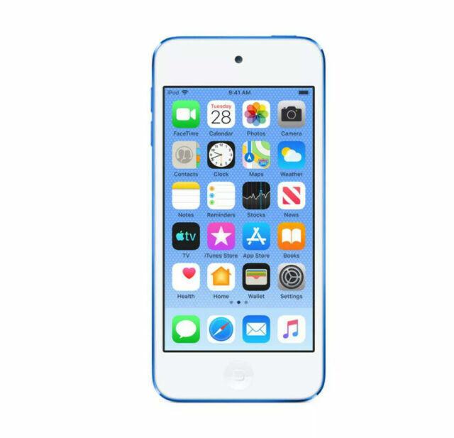 Apple Ipod Touch 7th Generation Blue 32gb Mvhu2ll A For Sale Online Ebay