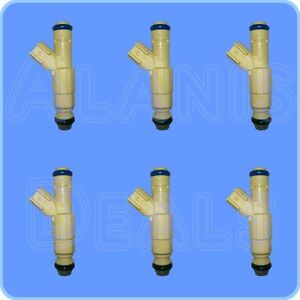 NEW-OEM-FUEL-INJECTOR-XS2E-A5B-SET-OF-6-FOR-FORD-AND-MAZDA-1999-2005