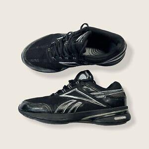 Reebok Easytone Smoothfit Black Silver 11-J21970 womens size 9 Toning Shoe