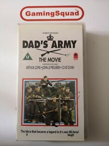 Dad-039-s-Army-The-Movie-Cinema-Club-VHS-Video-Retro-Supplied-by-Gaming-Squad