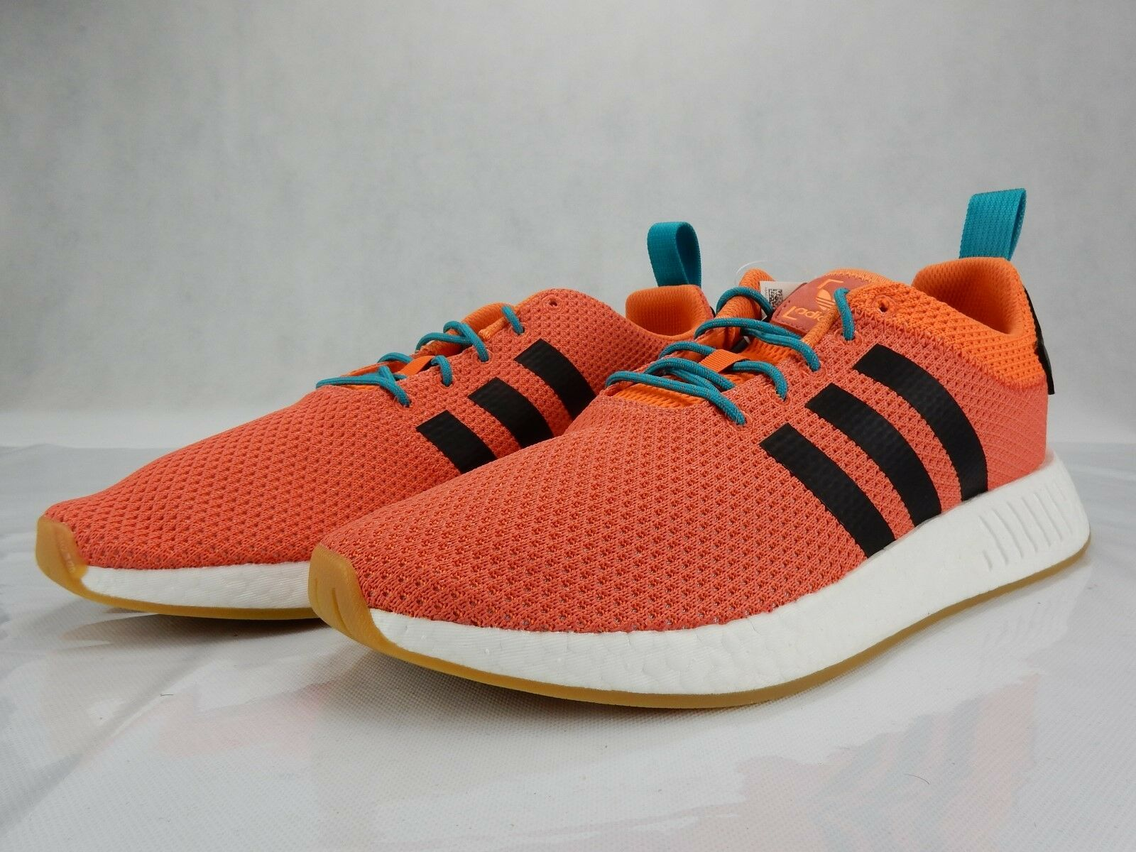 Adidas NMD_R2 Summer Spice Orange CQ3081 Mens S Shoes Size 12.5 New Sneakers