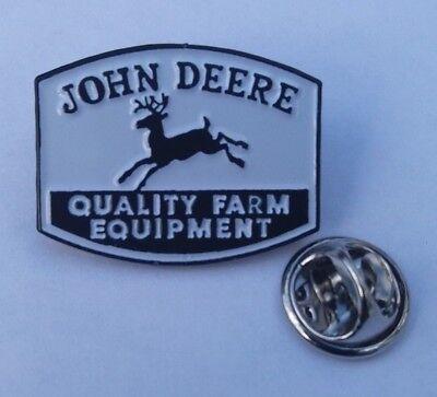 John Deere Tractor #3 Rare Pin Badge John Deere