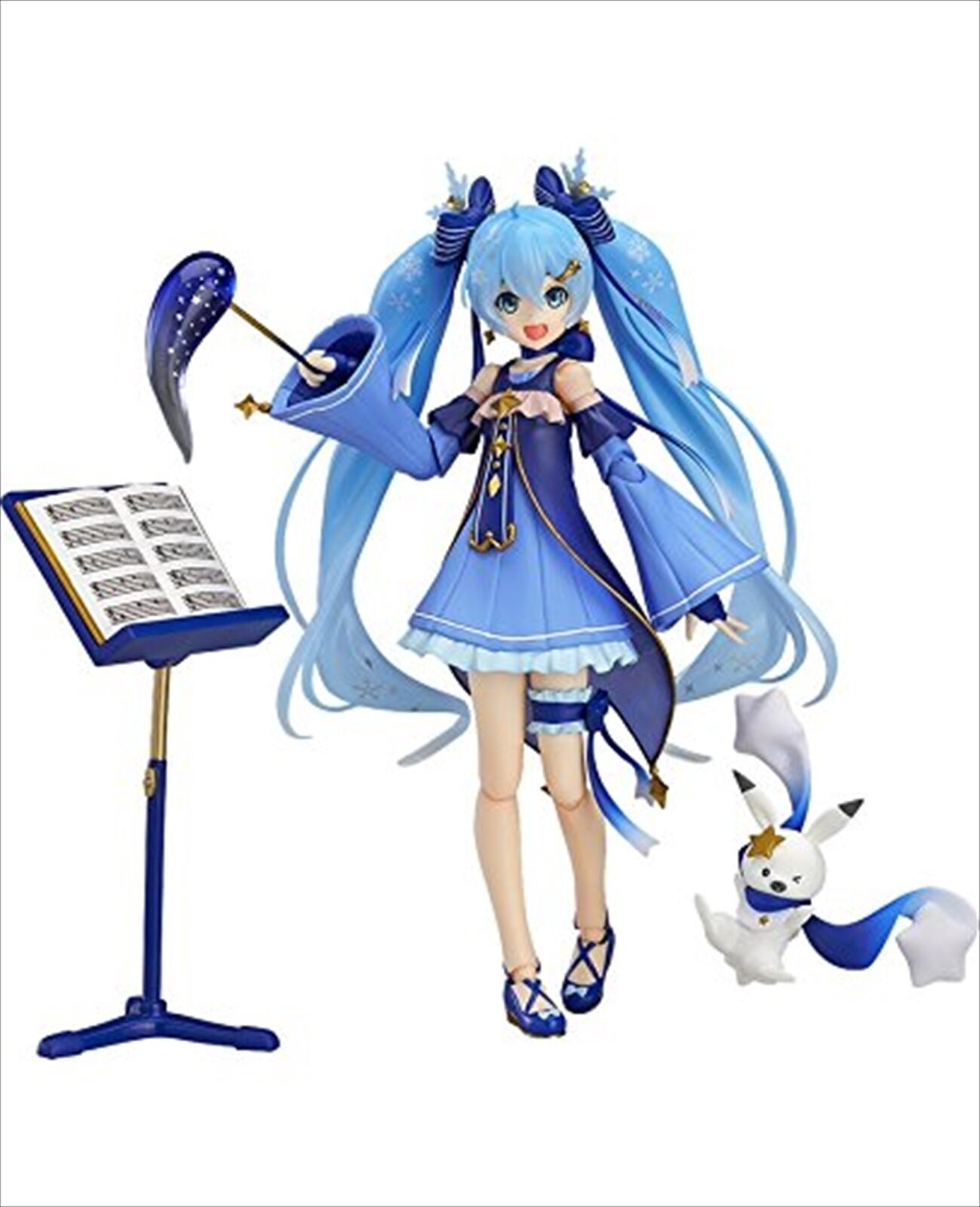 Good Smile Smile Smile figma Character Vocal Series 01 Hatsune Snow Miku Twinkle Snow ver. d49fdd