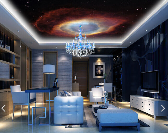 3D Cosmic Stars 4 Ceiling WallPaper Murals Wall Print Decal Deco AJ WALLPAPER UK