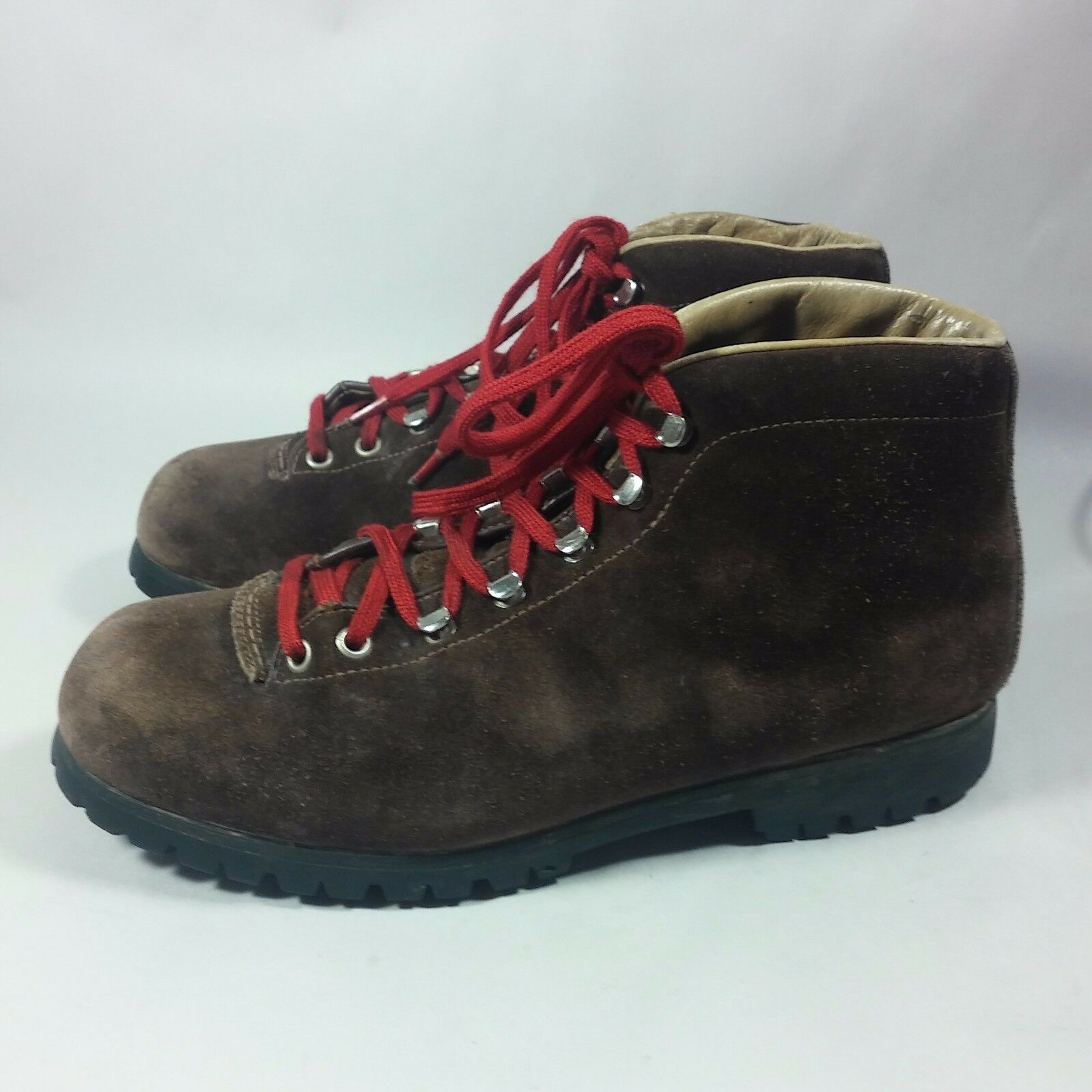 VINTAGE Women's Fabiano Palons ITALIAN Mountaineering Hiking Boots NICE -10 M