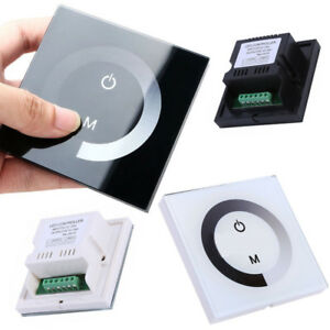 Wall Mounted Sensitive Touch Led Light Dimmer Controller