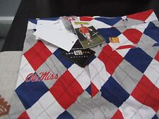 MENS LoudMouth Golf PANTS OLE MISS REBELS 42  WAIST LOUD AND FUNKY RARE NWT