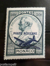 MONACO 1946, timbre AERIEN  13, AVION, neuf**, AIRMAIL MNH STAMP