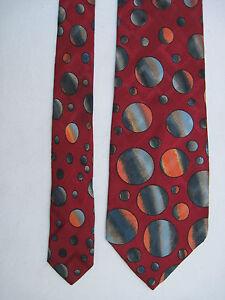 cf7fc17bb805 Chargement de l image en cours AUTHENTIQUE-cravate-cravatte-KENZO -100-soie-TBEG-vintage