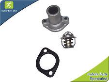 New Kubota KX161-2 KX161-2(S SERIES) Thermostat Cover, Thermostat & Gasket
