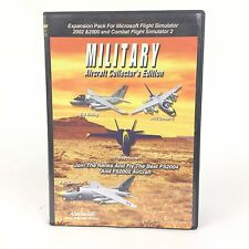 Military Aircraft Expansion Pack For Microsoft Simulator 200-02 Combat Simulator
