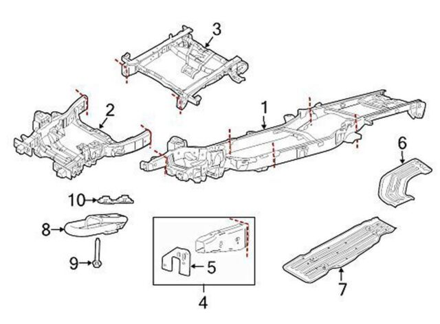 f 150 frame diagram ford oem 09 14 f 150 frame mount bracket right 9l3z5d058aa for  ford oem 09 14 f 150 frame mount