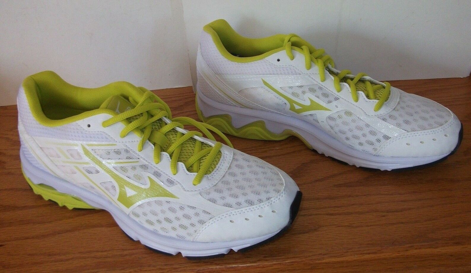 Mizuno X-10 Athletic Schuhes Damenschuhe 11 Safety Green/Yellow Run Training Sneakers