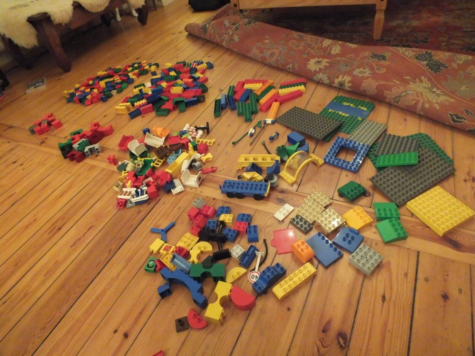 Großes LEGO DUPLO Set - 434 Teile Platten gepflegt & kaum bespielt