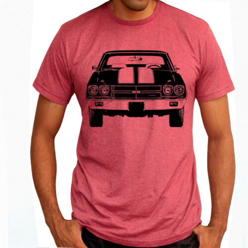 CHEVELLE SS 1970 CHEVY American Muscle Racing Soft Cotton T-Shirt Multi Colors