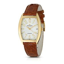 PHILIP WATCH OROLOGIO SOLO TEMPO PANAMA ORO  AUTOMATIC GOLD NEW R8021850021