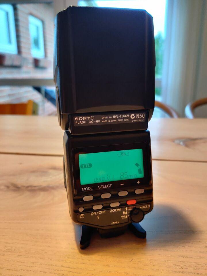 Sony, HVL F56AM, Perfekt