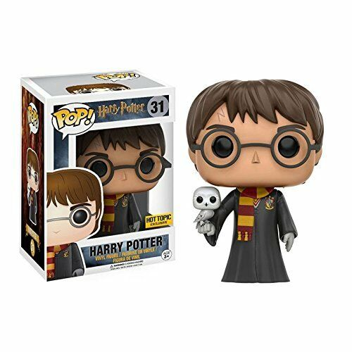 Harry potter mit hedwig limited edition funko pop - figur