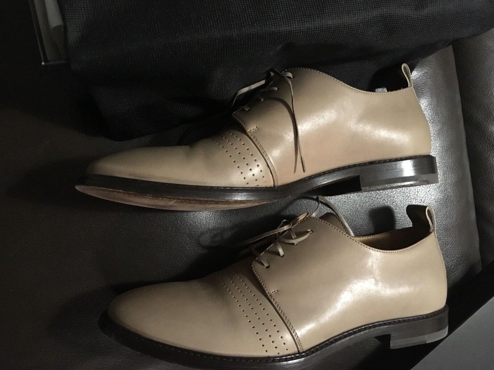 Strenesse Herren Schuhe Casual Echtleder Echtleder Echtleder Vollleder Gr. 42 44,5 Italy bc5340