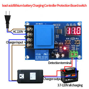220V Blei-Säure Li-ion Batterie Charge Control Module protection Switch Board gl