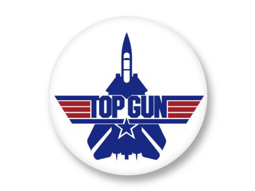 Magnet Aimant Frigo Ø38mm Top Gun The Best 80/'s Movies Film Cinema