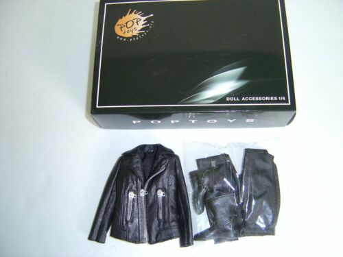 "POPTOYS female riders Women/'s motorcycle leather clothing Suit F 12/"" KUMIK Body"