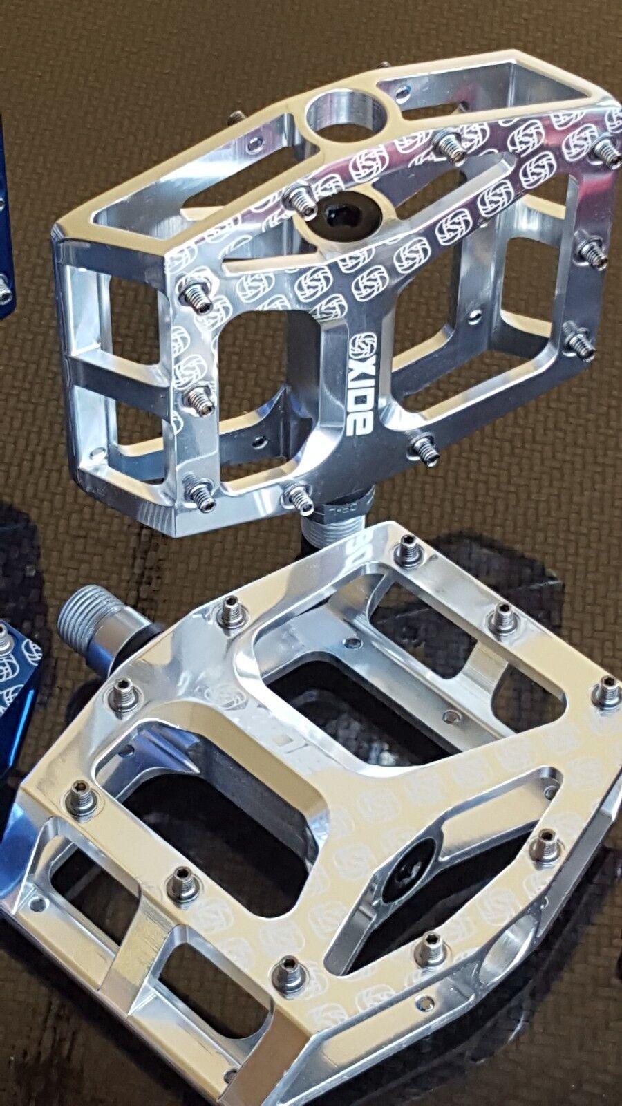 Pedales de óxido Gusset (CNC mecanizado) Bicicleta de Montaña Montaña Montaña BMX (totalmente Sellado) Nuevo (par) 5747be