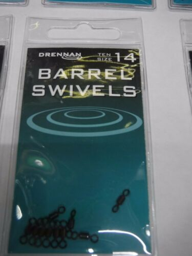 DRENNAN QUICK SNAP SWIVELS //OR BARRELL SWIVELS