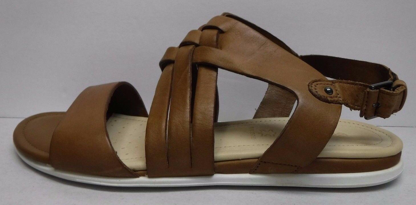 Ecco Size EUR 41 US 10 10.5 Brown Leather Sandals New Womens shoes