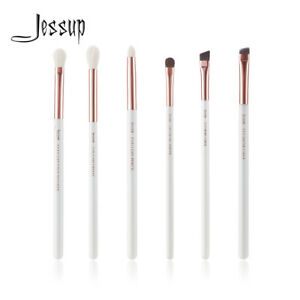 Jessup-6pcs-Rose-Gold-Eye-Brushes-Set-Blending-Pencil-Brow-Liner-Makeup-Tools