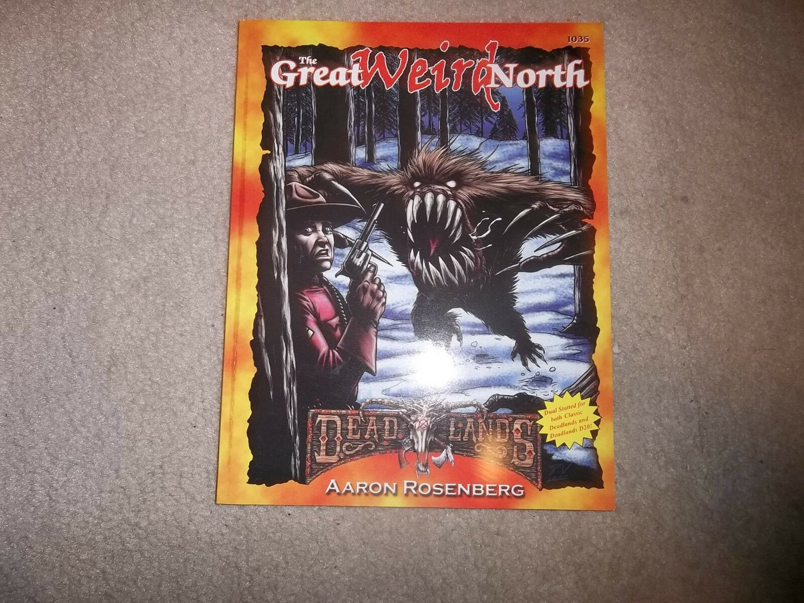 Deadlands The Great Weird North