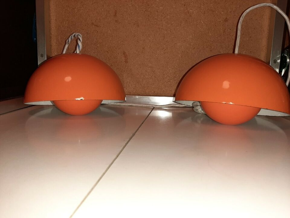 Verner Panton, Flowerpot Orange, hængelampe