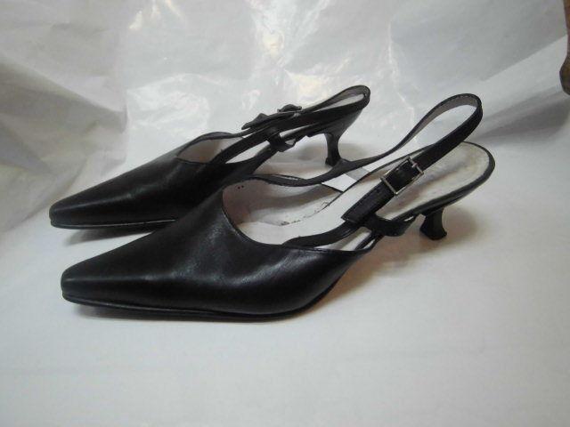 Zapatos Zapatos De Tacón Zapatos Zapatos Mujer Cuero Negro Vintage zapato 937f54
