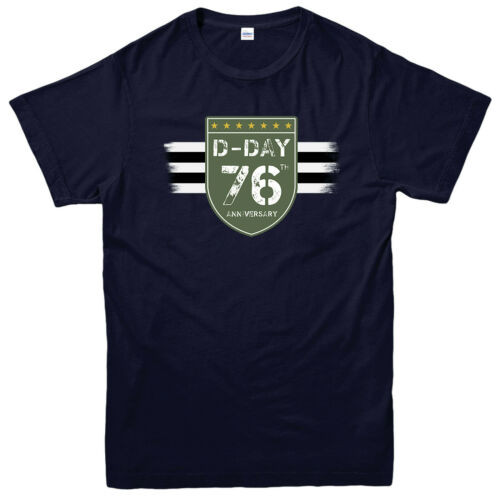D-Day T-Shirt 1944-2020 Normandie D-Day 76th Anniversary ww2 Fans Top