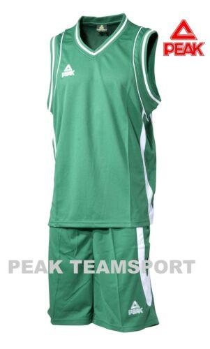 PEAK Classic Style Basketball Team Kit Jersey /& Short Set Sizes S 5XL