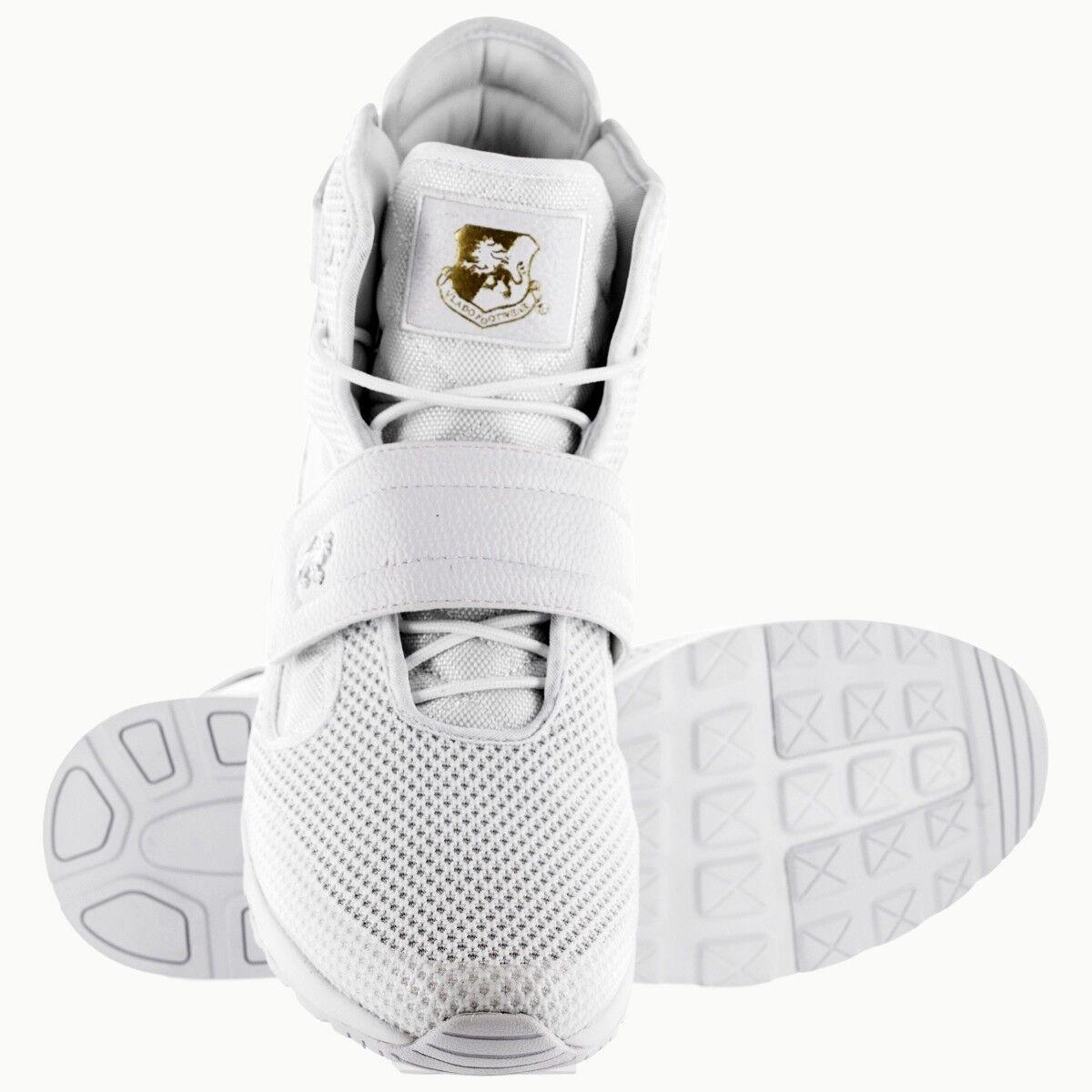 Vlado Homme Footwear Atlas III 3 Mono blanc Hi-top chaussures IG-1511-1W