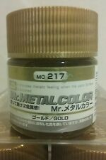 Mr Hobby acrylic paint Mr Metal Color MC-217 Gold 10ml