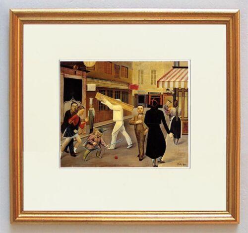 La rue Klossowski Strassenszene Freund Picasso Balthus 1