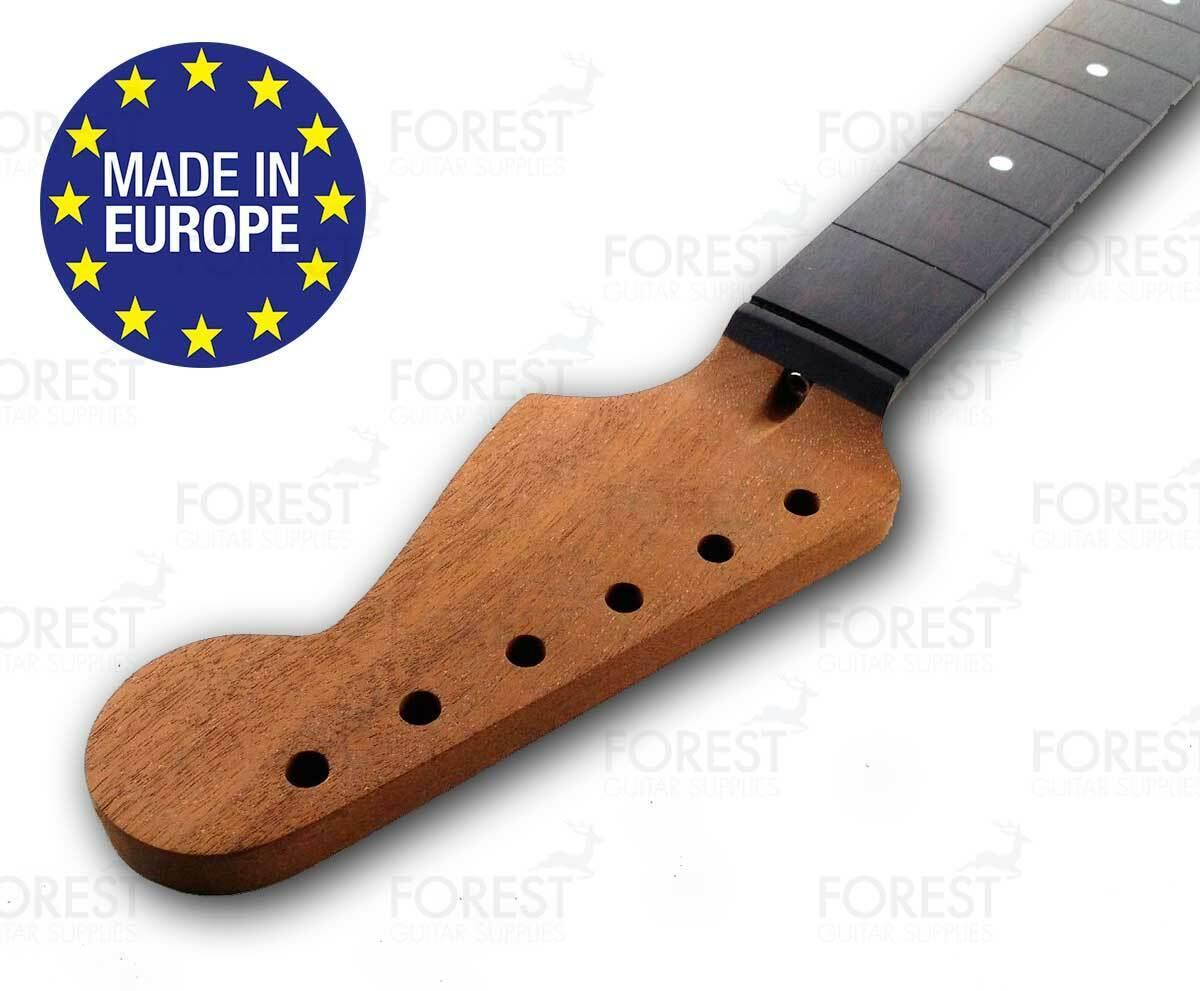 Stratocaster ® Electric guitar neck Honduras Mahogany   Ebony 9.5  radius