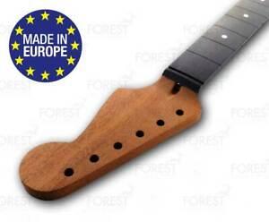 """Stratocaster Electric Guitar Manche Honduras Acajou/bois D' Ébène 9.5 """" Radius N9lyfsee-07171959-232611785"""